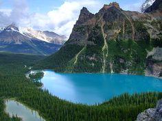 Lake O'Hara, Yoho National Park, British Columbia.