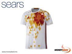 MONEYBACK MÉXICO. ¿Eres aficionado al fútbol? ¡El nuevo jersey de visitante de la selección español ha gustado mucho! Compra el jersey de tu selección favorita en Sears ¡y obtén un reembolso de impuestos con Moneyback! #moneyback www.moneyback.mx