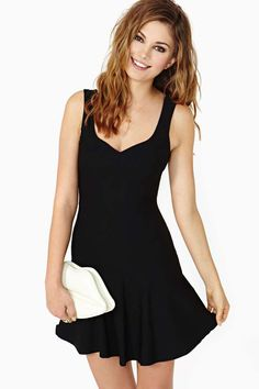 Nasty Gal Nobody's Darling Dress for $48 Homecoming or casual or formal dress Love it! Comes in an xxs!!(: