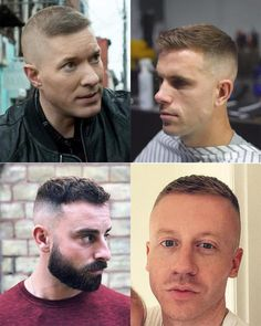 The high and tight is a military classic. Here's all you need to know about the high and tight haircut, plus hairstyles you can wear with it. Modern Haircuts, Haircuts For Men, Jarhead Haircut, Marine Haircut, High And Tight Haircut, Side Parting, Man Hair, Crew Cuts, Military Men
