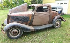 Gallery - 1934 Ford Model B 3 Window Coupe Honda Scrambler, Classic Hot Rod, Chevrolet Chevelle, Pontiac Gto, 32 Ford, Ford Classic Cars, Lifted Ford Trucks, Abandoned Cars, Barn Finds