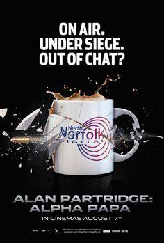 Alan Partridge: Alpha Papa gets a Poster