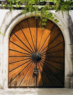 Castle Door - Double doors of a winery in the Napa Valley of California | Entrance to..... | Pinterest | Castle doors Castles and Doors & Castle Door - Double doors of a winery in the Napa Valley of ...