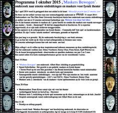 Sjoerd Schwibettus: maskers bewogen - onderzoek naar emotie uitdrukkin...