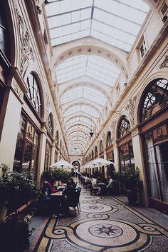 Galerie Vivienne - Paris passage.  Loved walking through this passage....