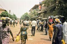 Street in Togo, Africa