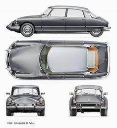 """specialcar: """"'66 Citroen DS """""""