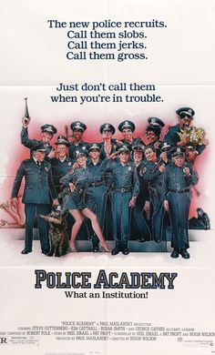 """Police Academy (1984) Vintage One-sheet Movie Poster - 27""""x 41"""""""