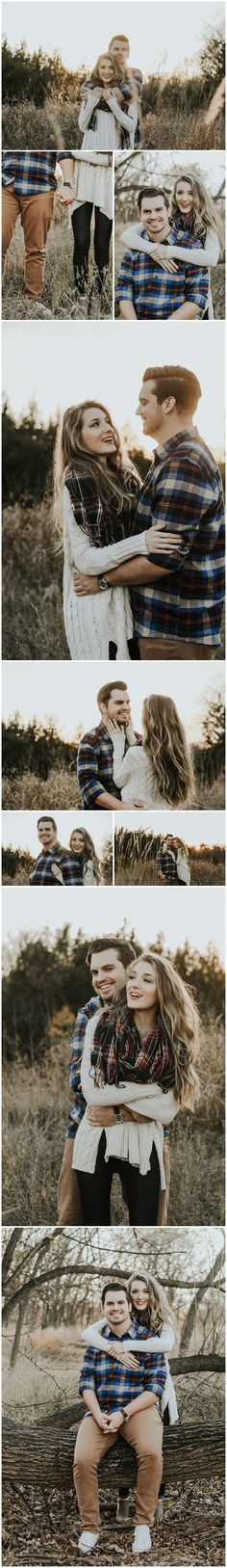 Fall Engagement Session | Oklahoma City Photographer | Loves + Letters