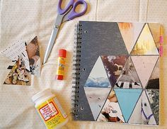 18 Ways to Decorate Your Notebooks | All About Family Crafts