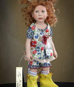 Martha. Коллекционная кукла Zwergnase