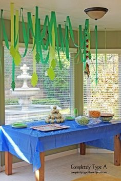 Jungle theme party birthday-or-anniversary