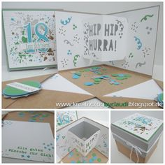Creative Blog by Claudi: Explosionsbox Party 3D