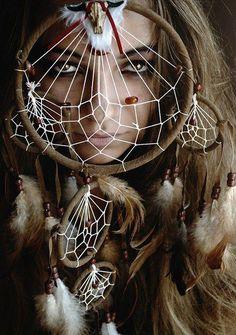 Native american women  ...  dreamcatcher