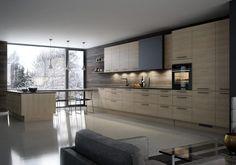 Nordisk Home Kitchens, Divider, Art Deco, Kitchen Cabinets, Furniture, Design, Home Decor, Villa, Alternative