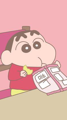 小新×吃 Iphone Wallpaper Kawaii, Sinchan Wallpaper, Floral Wallpaper Iphone, Cute Wallpaper Backgrounds, Cute Cartoon Wallpapers, Colorful Backgrounds, Crayon Shin Chan, Sinchan Cartoon, Kawaii Art