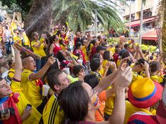 Watching the 2014 World Cup in Parque Lleras (Photos)  20140704-IMG_4685.jpg by rtwdave, via Flickr