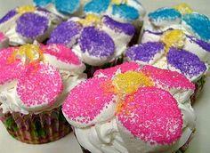 Flower Power Cupcakes!