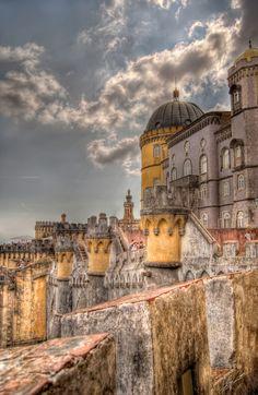 Castle Sintra, Portugal