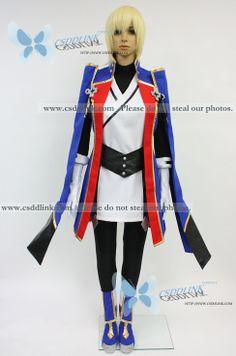 Blazblue Jin Kisaragi Cosplay costume - CSddlink cosplay