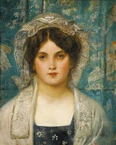 Portrait of a Young Girl - Eduard Veith
