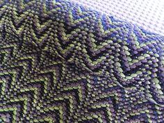 Loom Weaving, Recycled Fabric, Woven Rug, Scandinavian Style, Rag Rugs, Pattern Design, Textiles, Blanket, Crochet