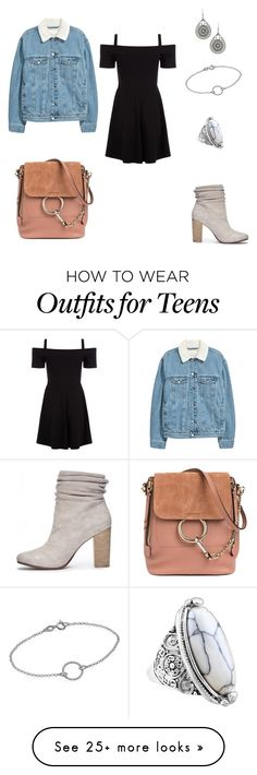 """""""Week 3"""" by ivanamay on Polyvore featuring Chinese Laundry and Chloé"""