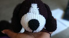 A friend of mine was keen on having a beagle made for him, and I was more than excited to start a new amigurumi crochet project. When I looked for patterns online, the one I liked . Crochet Hippo, Crochet Amigurumi, Free Crochet, Crochet Animals, Amigurumi Toys, Crochet Hook Sizes, Crochet Hooks, Crochet Dog Patterns, Crochet Ideas