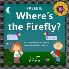 Your elementary music students will love reviewing rhythm with this engaging interactive music game. Adding it to your lesson plan will have the students begging to play it and it's FREE!