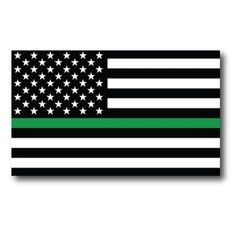 The Thin Green Line. These heroes protect and preserve this beautiful country. Shop the Thin Green Line Flag to fly your support today.