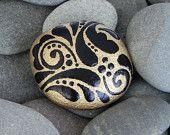 Rain Forest / Art on Stone / Sandi Pike Foundas / Cape Cod. $38.00, via Etsy.