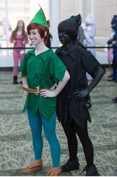 Peter Pan cosplay done right! tots doing this for Halloween!