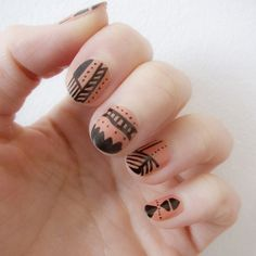 See how you can use a marker to make cool nail art designs and patterns for your nails!