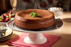 New York Style Chocolate Cheesecake Recipe | Food Network