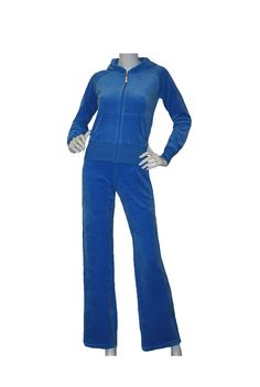 Blue Velour Tracksuits for Women.... http   www.colourcouture dee8d7fde
