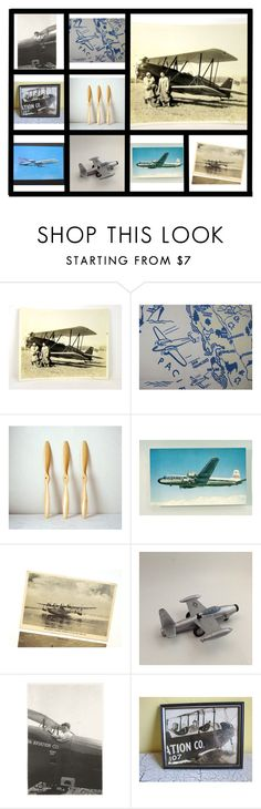 """""""Flying High With EPSteam"""" by avintagestore ❤ liked on Polyvore featuring interior, interiors, interior design, home, home decor, interior decorating, vintage, EPSteam and AVintageStore"""