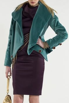 https://www.cityblis.com/4454/item/15066   style: 111 Sophia Jacket - $676 by NICO DIDONNA   The Ocean Green luxurious cotton jacket ensures a sleek fashionable look with large chic collar. Can be worn with dress or Trousers.  Material: 100% cotton  Fitted to body •Two Large burgundy gold trimmed buttons on front and on each pockets  •Rounded collar • Long fitted sleeves ...   #Coats/Jackets
