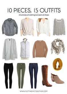 I know many of us are traveling for the holidays, so every year I put together a fall packing list so that you don't have to think very hard about what to pack! I don't know if I'll personally use th
