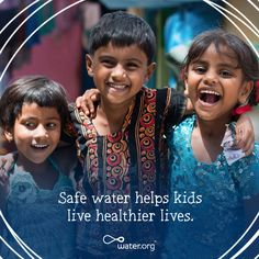 750 million people — about one in nine — lack access to safe water. Many of these are kids, who must spend hours walking and collecting water each day rather than attending school or playing with their friends. With your help, we are working to change this. Learn more at Water.org/Summer   #givewater #givesummer