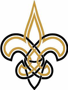 Celtiv Knot Fleur de Lis - New Orleans Saints - Saintsreport.com - Message Boards