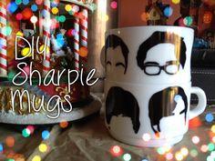 El Burn Book: DIY sharpie mugs