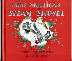 Vintage Children's Book ~ MIKE MULLIGAN AND HIS STEAM SHOVEL Virginia Lee Burton