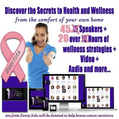 """Ive brought together 45 weight loss wellness and fitness experts one of the """"MOST HUGEST"""" weight loss and wellness events ever to show you actionable strategies you can use right away to start losing weight and get healthy and fit right now.  If youre wondering how youre actually going to fullfil that New Years resolution to lose weight and youre almost at the end of the year THIS is your answer.  My expert presenters are going to share:  How to break the cycle of losing then gaining for…"""