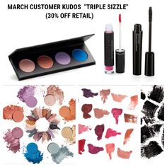 """Younique March 2018 Customer Kudos """"Triple Sizzle"""""""