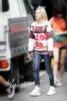 Nutella Dara, I want Dara's 'foodie' shirts (Oreo, Nutella....)