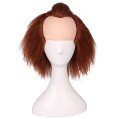 Kids Size Prestyled Bald Wig for Halloween and Cosplay