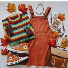 Retro Outfits, Cute Casual Outfits, Outfits For Teens, Fall Outfits, Vintage Outfits, Look 80s, Look Retro, Aesthetic Fashion, Aesthetic Clothes