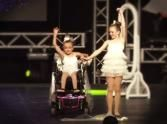 "Sisters' Dance Performance is Inspiration on Wheels. This is the best dance I've seen in a long time. Watch as these two girls show how the ""handicapped"" is so much more than what we see on the outside. Wonderful!"