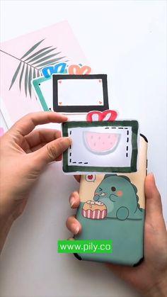Cool Paper Crafts, Paper Crafts Origami, Diy Crafts For Gifts, Origami Art, Cute Crafts, Diy Crafts Videos, Diy Craft Projects, Diy Paper, Crafts For Kids