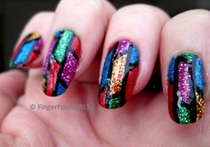 Stained Glass #Nails